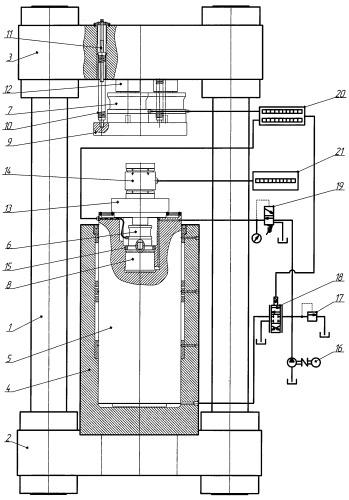 Машина силозадающая (силоизмерительная) сжатия образцовая