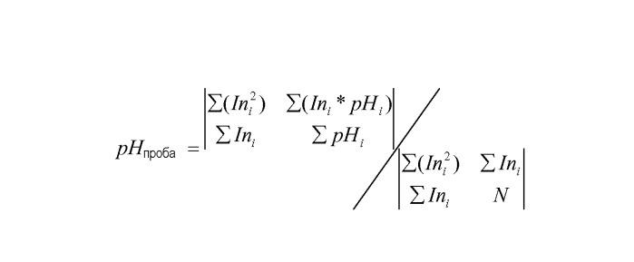 Способ и устройство для измерения ph слабощелочных растворов