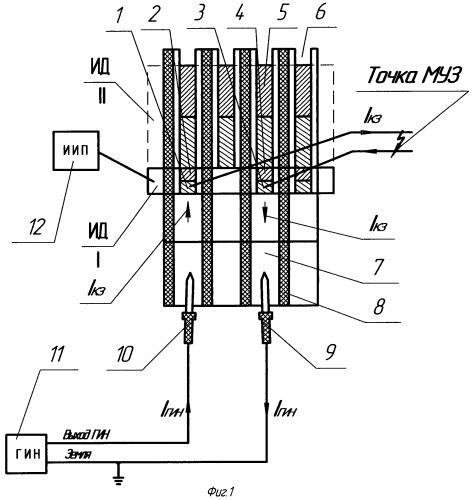 Способ точного обнаружения замыкания между уравнителями первого рода простой петлевой обмотки якоря коллекторной электрической машины