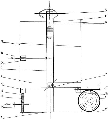 Учебный прибор для демонстрации деформаций тел