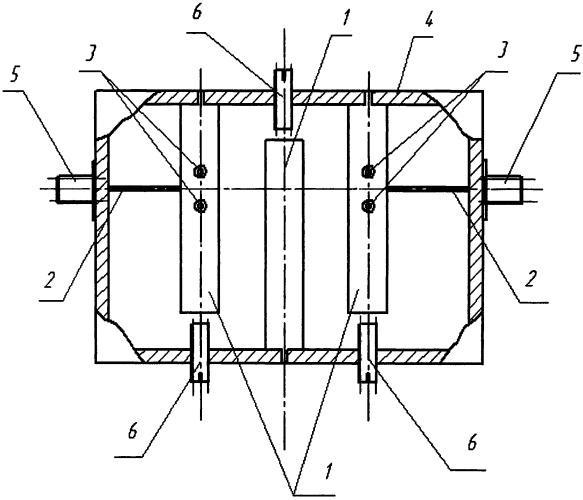 Селективное устройство защиты на встречных стержнях