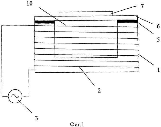 Электромагнитный ультразвуковой преобразователь и матрица