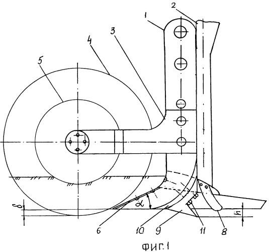 Комбинированный сошник