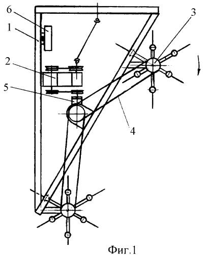 Роторное устройство для скашивания и измельчения травяной растительности