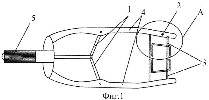 Векорасширитель елакова для кератопластики и антиглаукомных операций при нижнем скреальном доступе