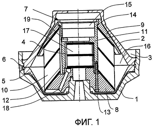 Сжимаемый узел для центробежного сепаратора