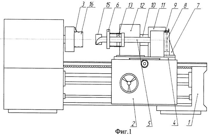 Устройство для комплексной обработки внутренней поверхности детали типа гильз двс путем детонационного нанесения покрытия и механической обработки этой поверхности