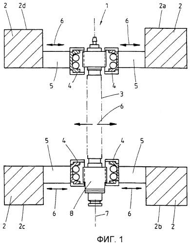Прокатное устройство с регулировочным устройством