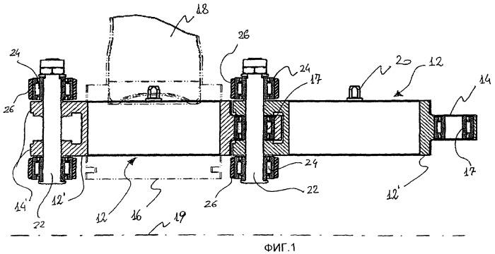 Устройство для выполнения операций на металлических контейнерах