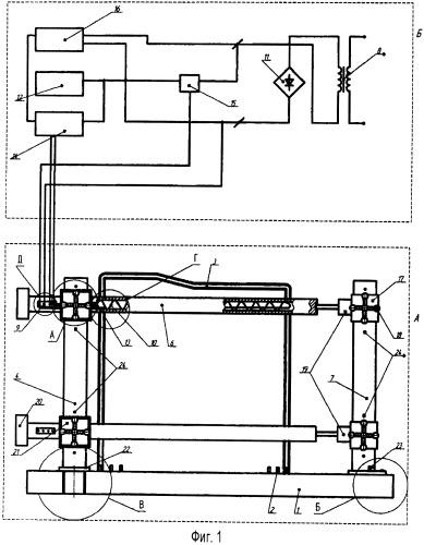 Устройство для восстановления посадочных поверхностей подшипников качения картеров коробок передач калиброванием слоя полимерной композиции, нанесенной на изношенные отверстия корпусных деталей