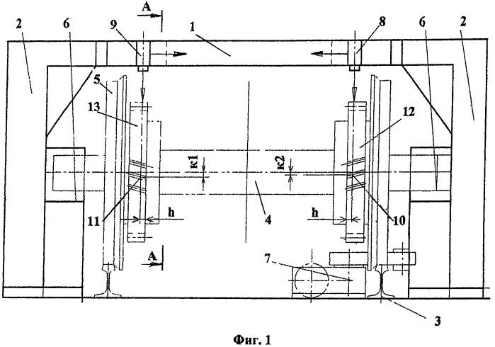 Приспособление для определения взаимного смещения зубьев зубчатых колес колесных пар железнодорожного транспорта