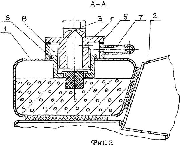Топливная система транспортной машины