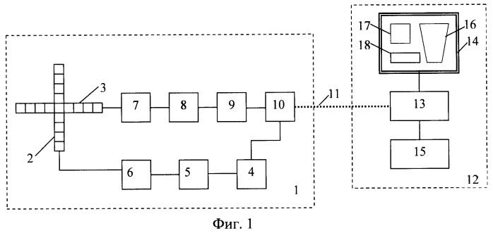 Устройство гидроакустической визуализации подводного пространства в условиях ограниченной видимости