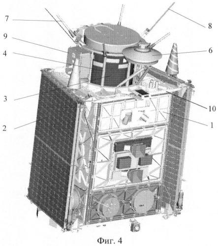 Микроспутник для дистанционного зондирования поверхности земли