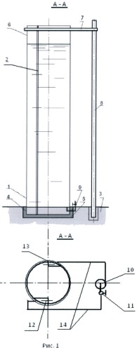 Вертикальный опытовый бассейн