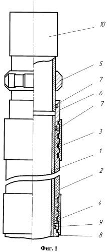Пакер гидравлический проходной