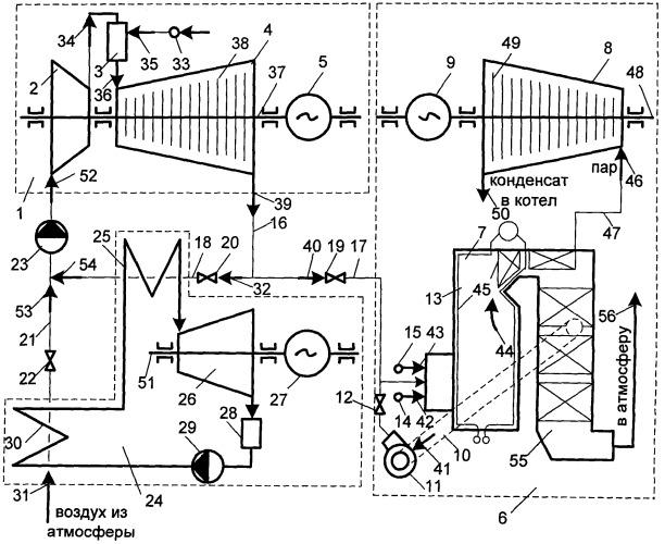 Способ работы газотурбоэлектрогенератора