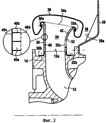 Шумоглушительное устройство для глушения шума в вертолетном газотурбинном двигателе и двигатель, снабженный этим устройством