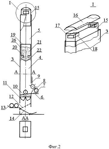 Мобильная установка для сжигания фрагментов ракетных двигателей твердого топлива