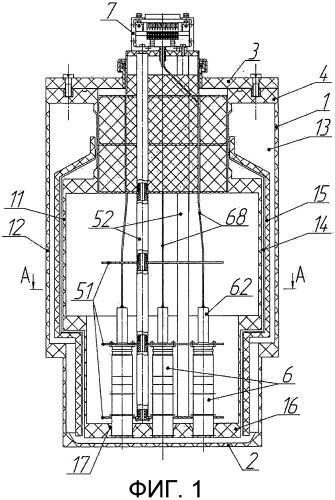 Приемный элемент сквид-магнитометра