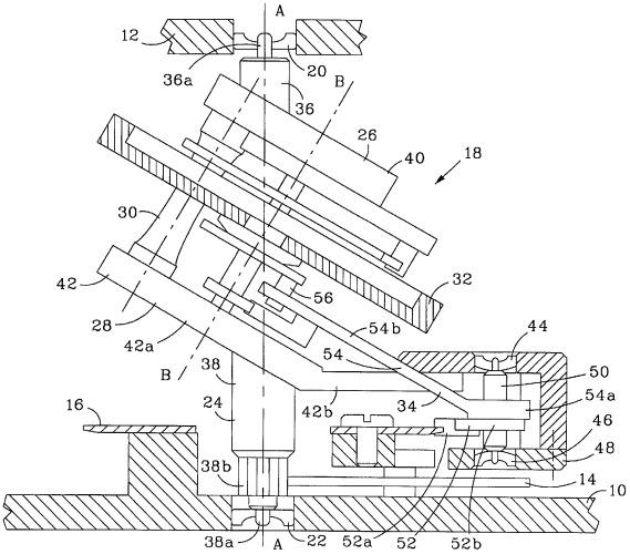 Механизм турбийона для часов