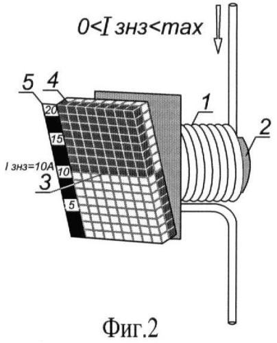 Регистратор величины тока замыкания на землю для опор линии электропередачи