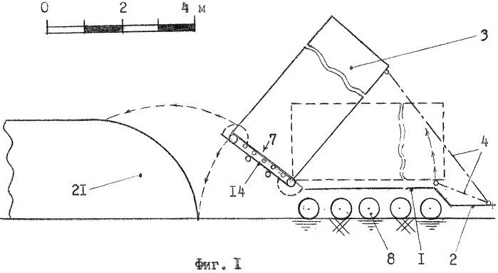 Способ уборки свекловичной ботвы с ее силосованием и технологическое транспортное средство для уборки свекловичной ботвы