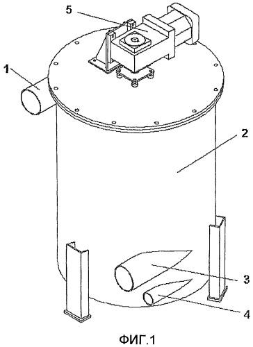 Напорный фильтр с вибратором
