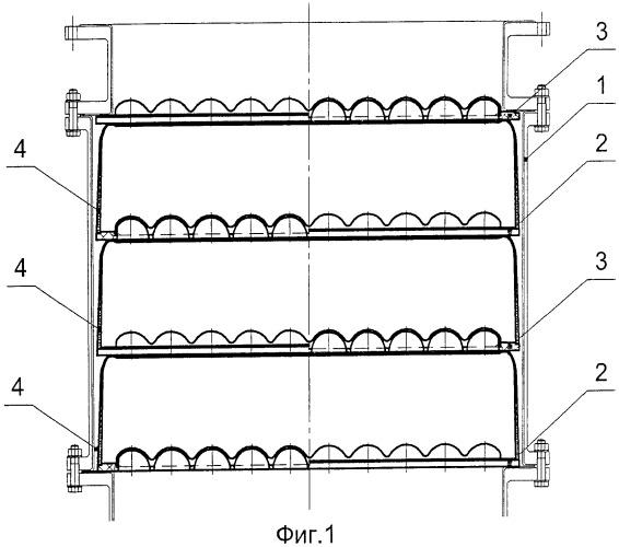 Конструкция насадки для пульсационных колонн выщелачивания сырья нагретыми агрессивными кислотами