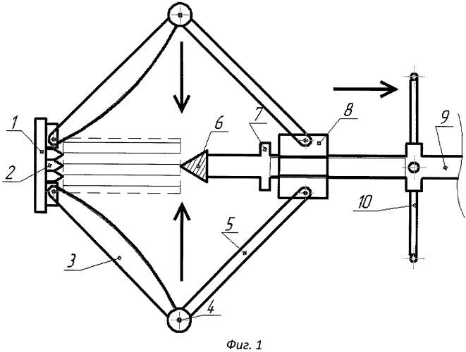 Рабочий орган устройства для раскалывания древесины