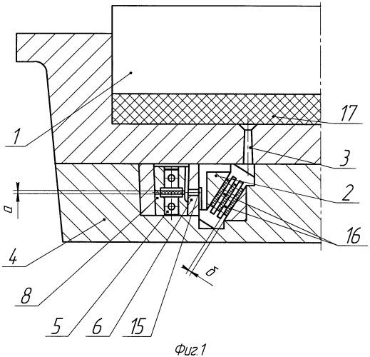 Пресс-форма для изготовления армированных резинотехнических изделий