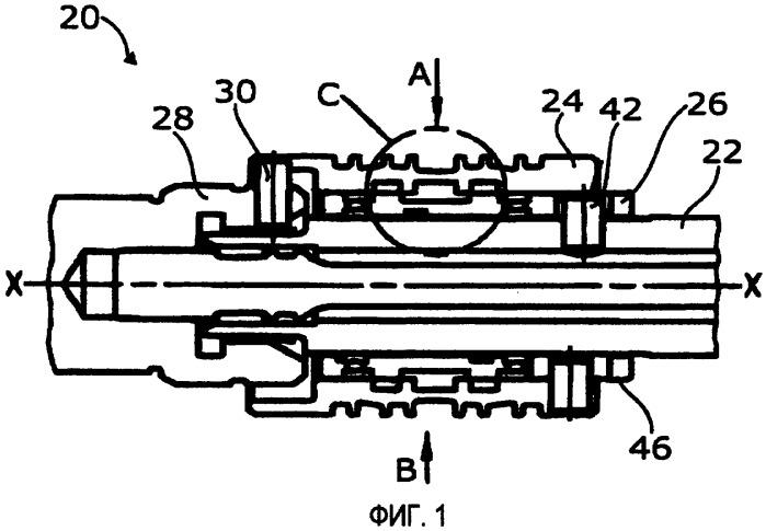 Золотниковый клапан для рулевого управления с гидравлическим усилителем