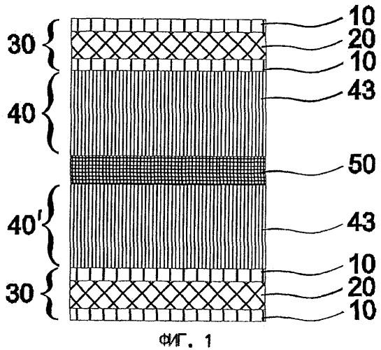 Многослойный материал для туб с интегрированным алюминиевым слоем, способ изготовления такого многослойного материала и изготовленная из него туба
