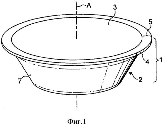 Одноразовая капсула для приготовления пищевой жидкости с помощью центрифугирования