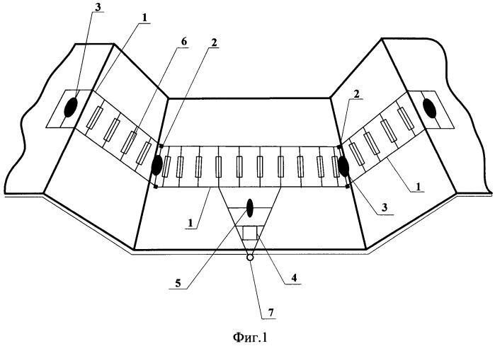 Устройство для проведения эксплуатацинного мониторинга водопроводящих каналов