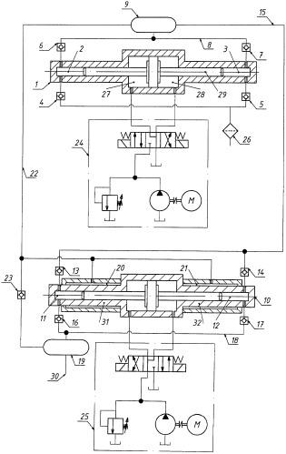 Мультипликаторная насосная установка сверхвысокого давления