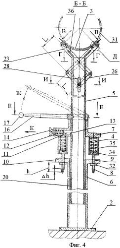 Опора и ложемент опоры для трубопровода