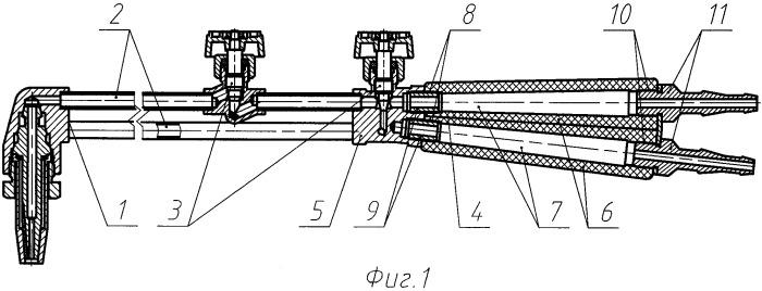 Ручное газопламенное устройство (варианты)