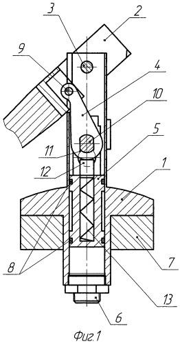 Складной руль управляемой ракеты
