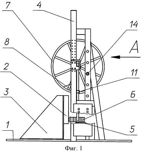 Стенд для виброударных испытаний узлов и агрегатов изделий и тормоз стенда для виброударных испытаний