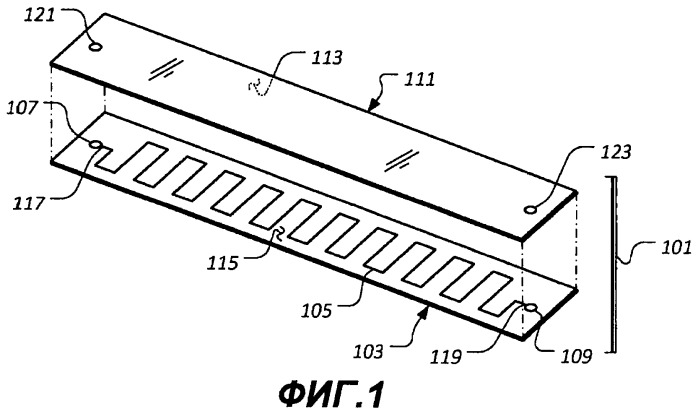 Микрофлюидное устройство и способ измерения термофизических характеристик пластового флюида