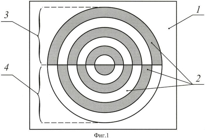Дифракционный оптический элемент для формирования нерасходящегося светового пятна при плоской поляризации падающего излучения