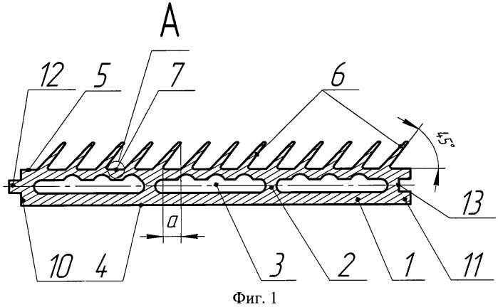 Теплопоглощающая панель для вакуумного термоциклирования