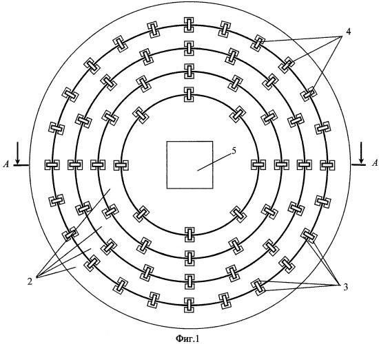 Полупрозрачный экран для антенны радионавигационного приемника