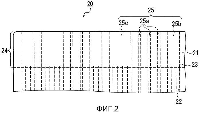 Гибкая подложка и структура электрической схемы