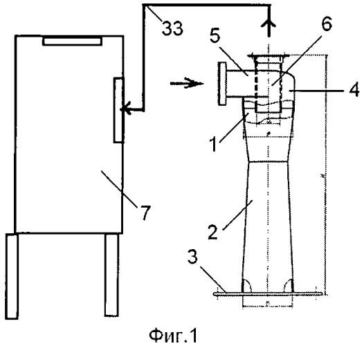 Двухступенчатая система пылеудаления кочетова