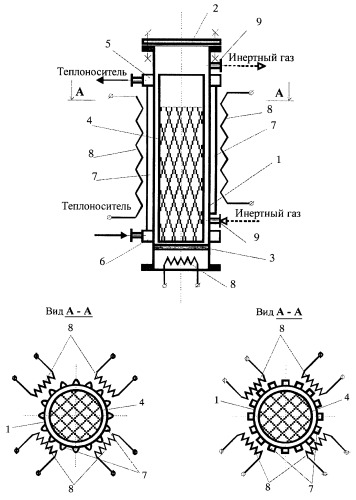 Устройство для получения железного порошка, содержащего фосфор