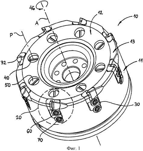 Режущий инструмент и механизм крепления режущего элемента на корпусе
