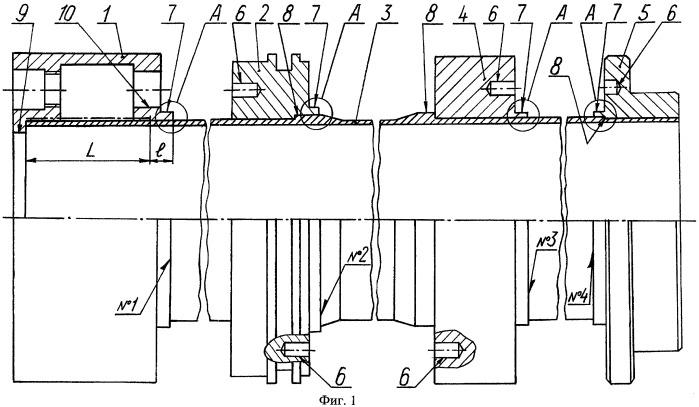 Способ изготовления тонкостенной осесимметричной сварной конструкции с толстостенными навесными элементами