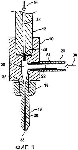 Устройство и способ выравнивания водяной струи в системе резания при помощи водяной струи